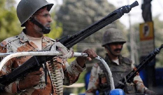Rangers kill 10 TTP militants in operation near DG Khan