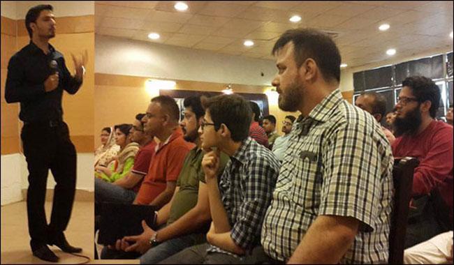 Seminar on Making Money Online held at Arts Council Karachi