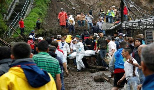 At Least 14 Killed In Manizales Landslide