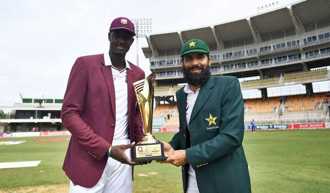 Pakistan win toss, bowl against Windies in first Test