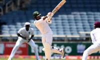 Pakistan take 36-run lead with five wickets in hand against Windies