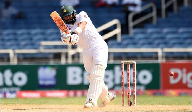Misbah left on 99 as Pakistan open big lead