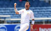 Pakistan need 32 to win after Yasir wraps up Windies 2nd innings