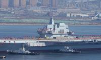 China launches first domestically-built aircraft carrier