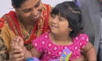 Bangladeshi girl with three legs ´walks, runs´ after Australia surgery