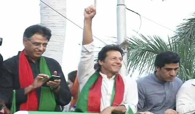 PTI's 'Rights for Karachi' rally reaches Jail Chowrangi