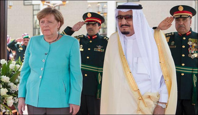 German chancellor in Saudi for G20, cooperation talks