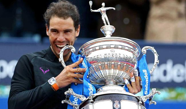 Red-hot Nadal wins ´dream´ 10th Barcelona Open