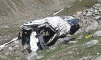 14 killed, 7 injured as Chitral-bound van skidded off mountain near Lowari Top