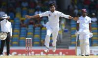 West Indies reeling at 72 for 3 at lunch first day second Test