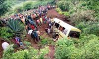 35 killed in school minibus crash in Tanzania