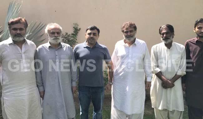 Zardari's friends recovered from Balochistan after a month