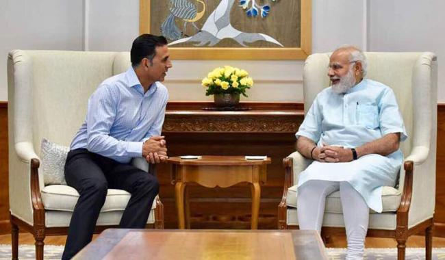 Akshay Kumar and PM Modi discuss Toilet - Ek Prem Katha over tea!