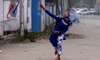 Spontaneous protests loosen India's grip on held Kashmir