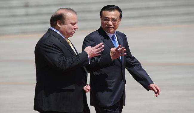 Nawaz meets Chinese leaders, assures Pakistan's support for One Belt, One Road