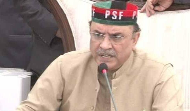 Pakistan elections in 8-9 months, says Asif Ali Zardari