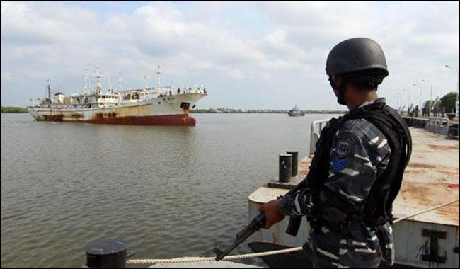 Four Indonesian soldiers killed in S. China Sea training