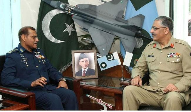 Gen Mahmood meets Chief of Air Staff