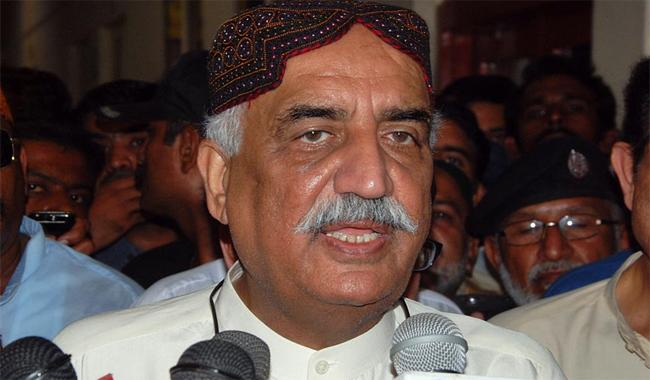 Khursheed Shah slams government over Yadav issue