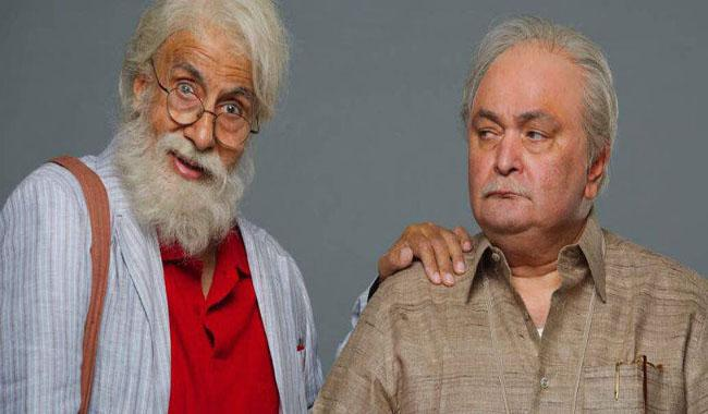 Amitabh at 102 not out, Rishi at 75 in this film
