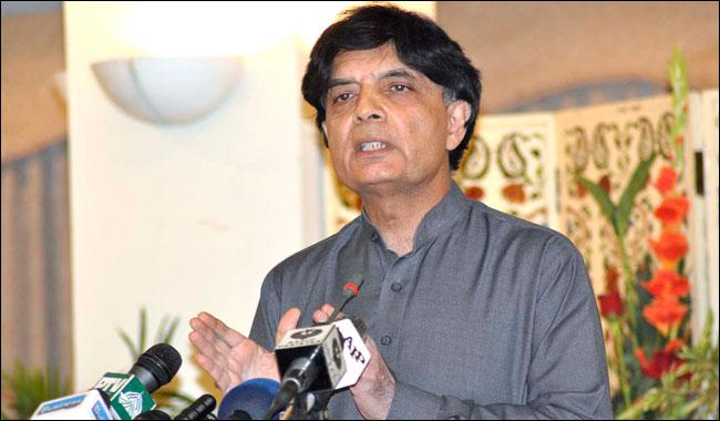 Yadav case to be taken to logical conclusion as per law: Nisar
