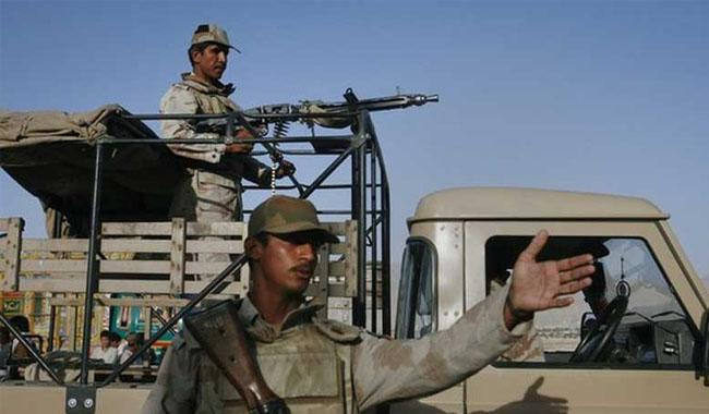 FC recovers huge cache of arms near Quetta: ISPR
