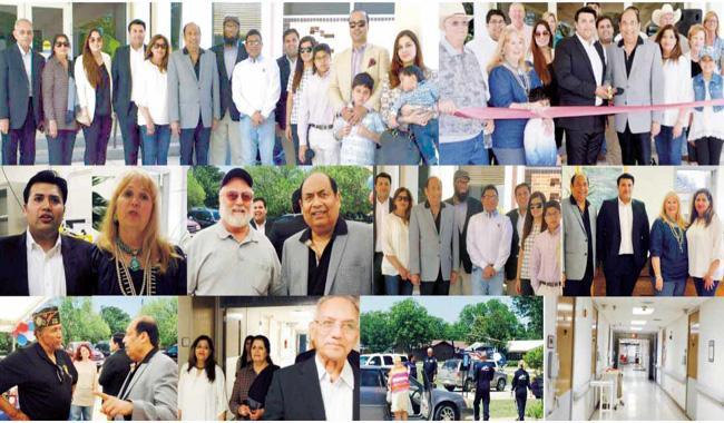 Pakistani American healthcare tycoon inaugurates renovated hospital