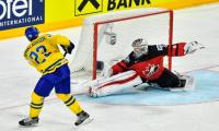 Ice hockey: Sweden win world title after penalty shoot-out