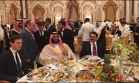 Gen. Raheel dines with Saudi Prince, Trump's son-in-law at Islamic summit