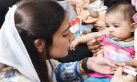 Aseefa Bhutto launches Polio drive in Karachi
