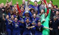 Pogba sends grieving Man Utd to emotional Europa triumph