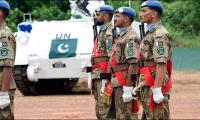 UN honours five Pakistani peacekeepers posthumously