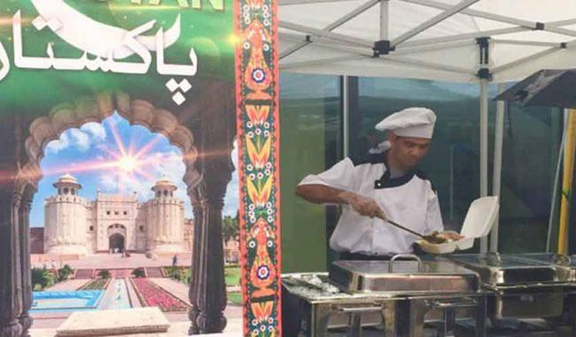 Pakistani stalls in UN International Bazaar