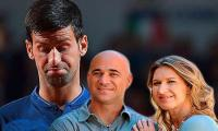 Steffi stepped in after Agassi said ´no´ to Djokovic