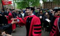 Zuckerberg urges Harvard grads to contemplate risk