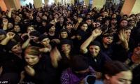 Tears and anger as Egyptian Copts bury attack victims