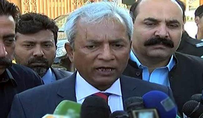 Nehal Hashmi appears before Supreme Court