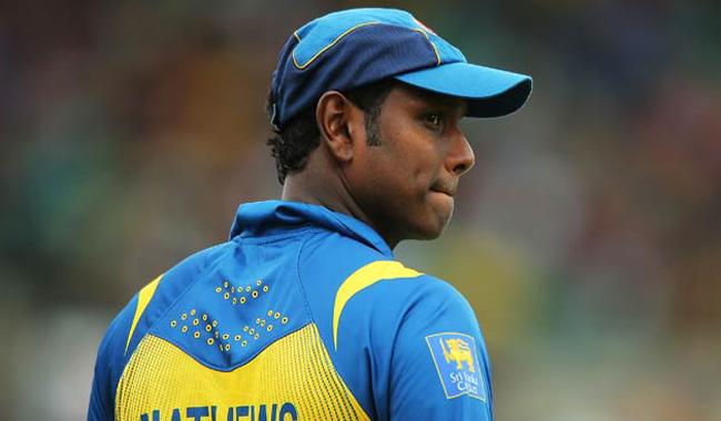 Angelo Mathews to miss champions trophy opener