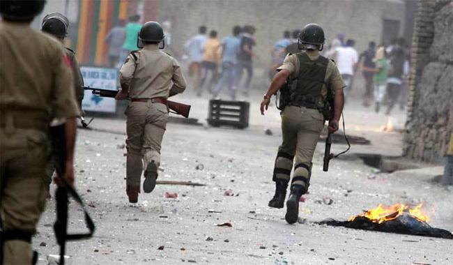 Image result for Indian Troops Martyr two Youth in IOK