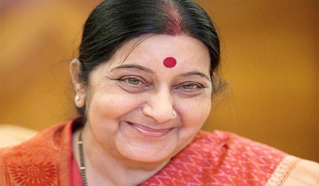Sushma Swaraj offers to help ailing infant from Pakistan