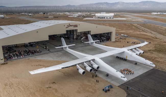 Stratolaunch, the biggest airliner ever built