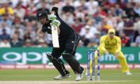 New Zealand bat against Australia in Champions Trophy
