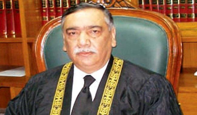Justice Khosa takes oath as acting Chief Justice of Pakistan
