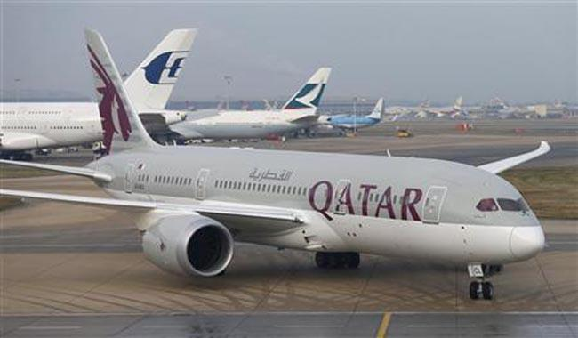 ´Eerie´ calm settles over Qatar´s deserted airport