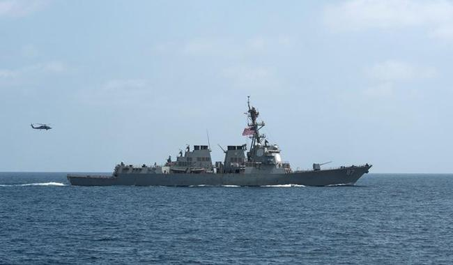 US Navy boats in Qatar for joint exercise