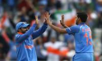 India bowl against Bangladesh in Champions Trophy semi-final