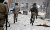 Indian troops use force against protesters in IoK, one martyred