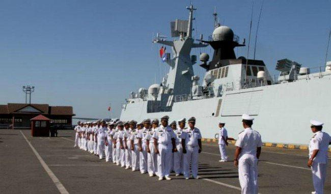 Iran and China conduct naval drill in Gulf