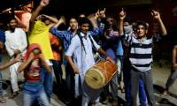 Srinagar cheers Pakistan victory as gloom hits India