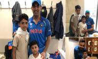 Azhar Ali thanks Indian legends Virat Kohli, Dhoni ,Yuvraj for spending time with his kids